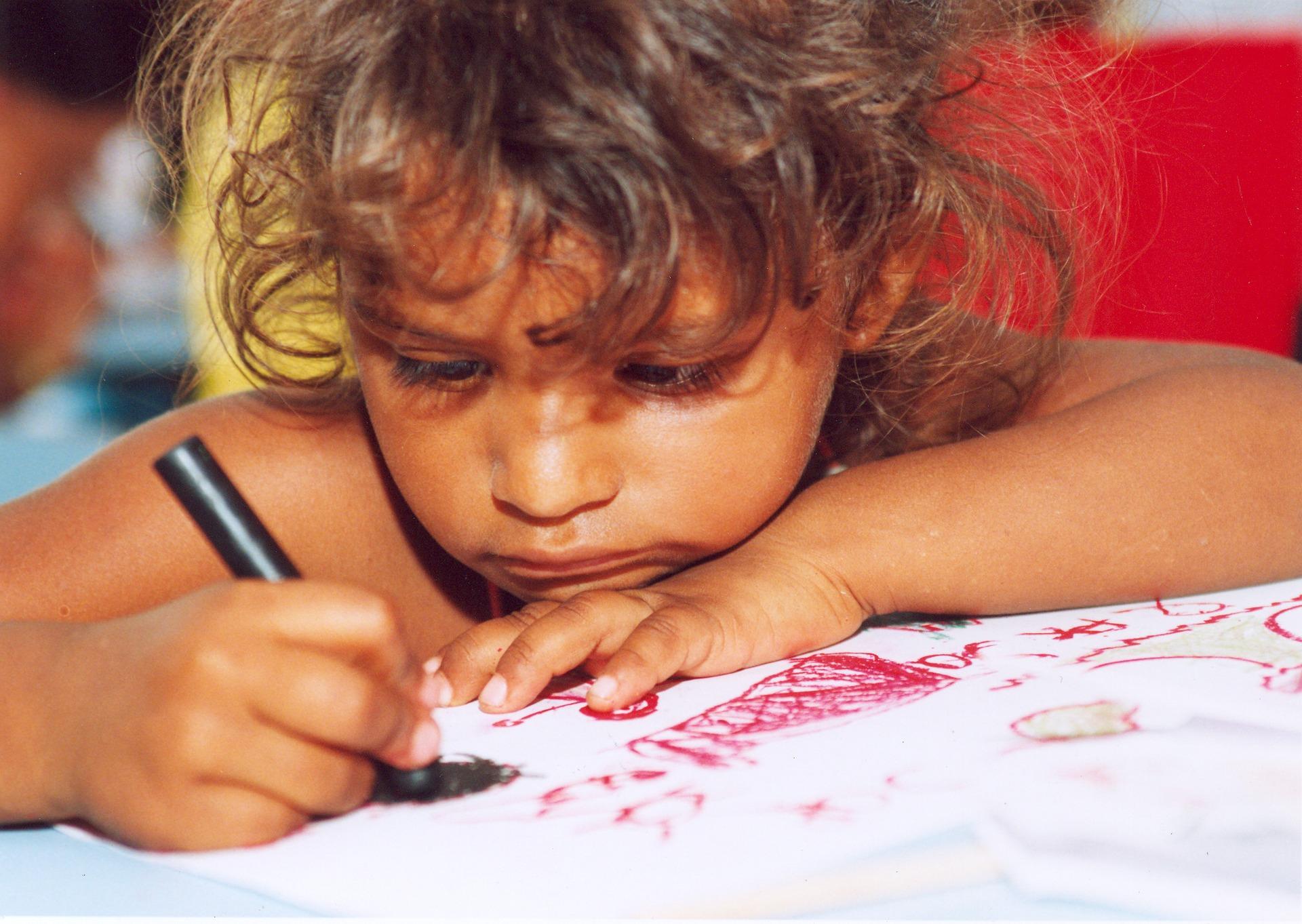 Week van de opvoeding 2017: Het effect van binnen de lijntjes kleuren op je kind